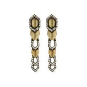 Deco Cascade Linear Earrings